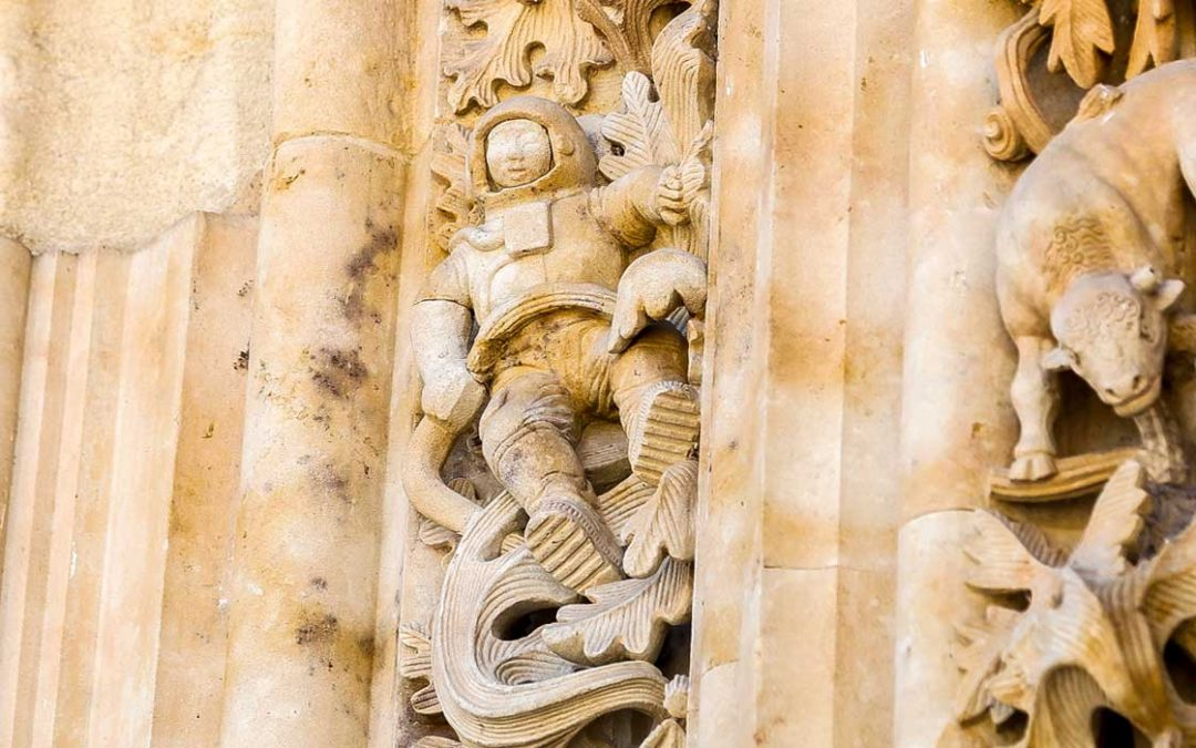 El astronauta de la Catedral.