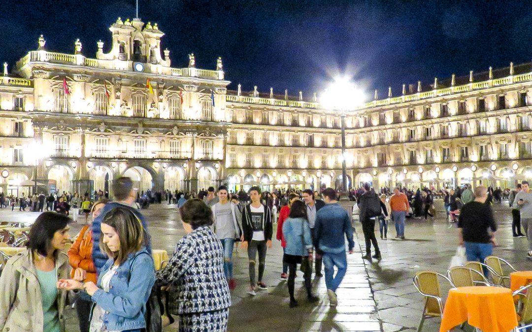 Alumbrado artístico de Salamanca