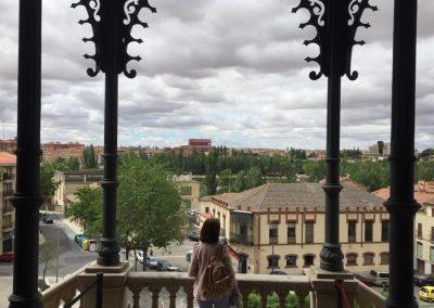 Bonita vista desde la fachada sur.