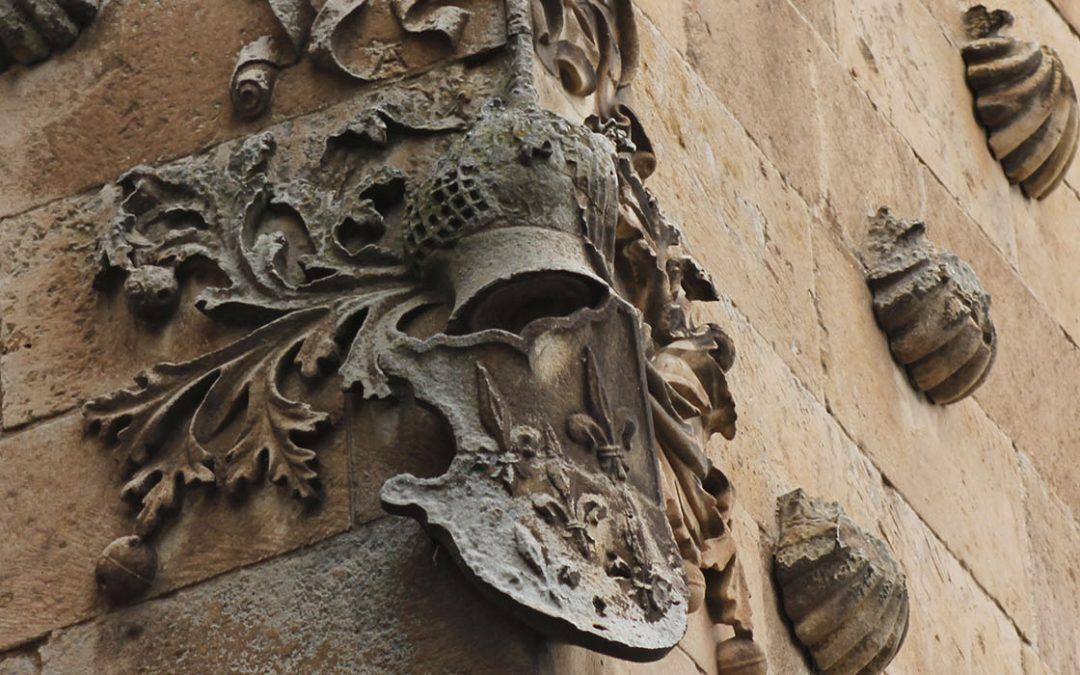 El escudo de los Maldonado (Casa de las Conchas)